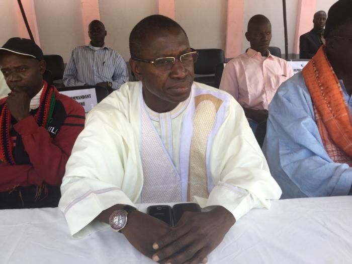 Conflit Casamançais : Le Président du Conseil départemental de Bignona rencontre les déplacés de la commune
