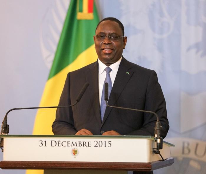 31 décembre 2015 : Voici l'intégralité du discours à la nation du Président Macky Sall