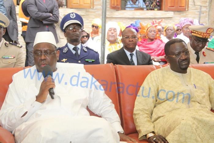 Décès du fils de Pape Abdoulaye Seck : Le Président Sall très ému