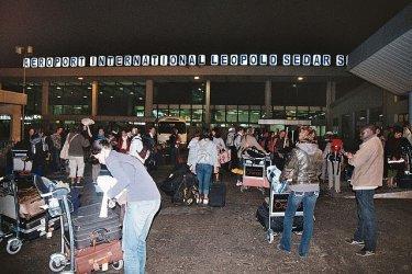 INSOLITE À L'AEROPORT LSS : Une franco-allemande voulait embarquer avec ses joints