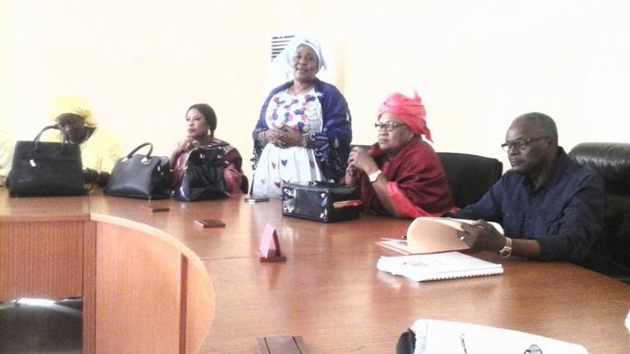 Parti socialiste : Les femmes du parti ont présenté leurs vœux à Tanor Dieng