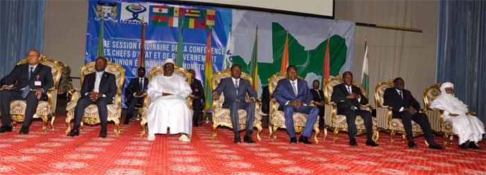 UEMOA : Les chefs d'Etat se félicitent du financement des économies de l'espace communautaire