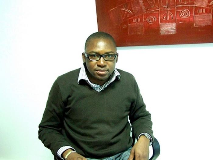 Cheikh Diallo dépose son CV sur la table du Président Roch M. Kaboré