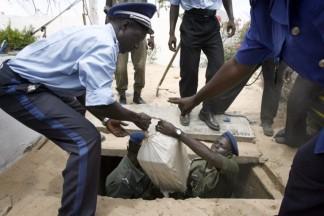 THIENABA : Les gendarmes saisissent un camion de yamba