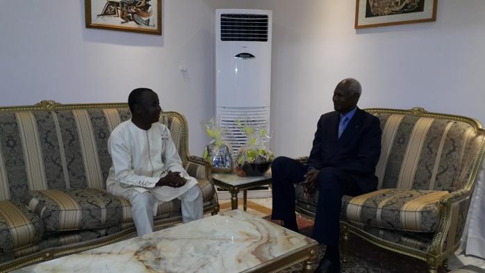 Audience : Abdou Diouf reçoit Adama Sow et tient parole....