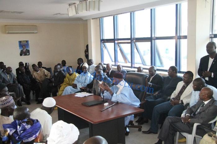 Message de Me Abdoulaye Wade, Secrétaire Général National au comité directeur.
