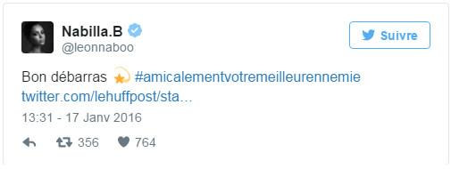 """Encore clashée par Geneviève de Fontenay, Nabilla lui répond : """"Bon débarras"""""""