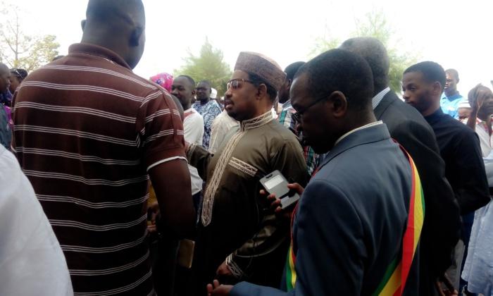 Ahmed Khalifa Niasse au Tribunal pour soutenir Oumar Sarr