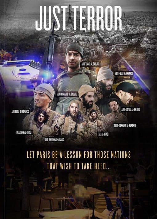 Deux Irakiens parmi les auteurs des attaques de Paris, selon la revue de l'EI