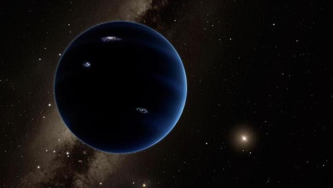 Une neuvième planète aurait été découverte dans le système solaire