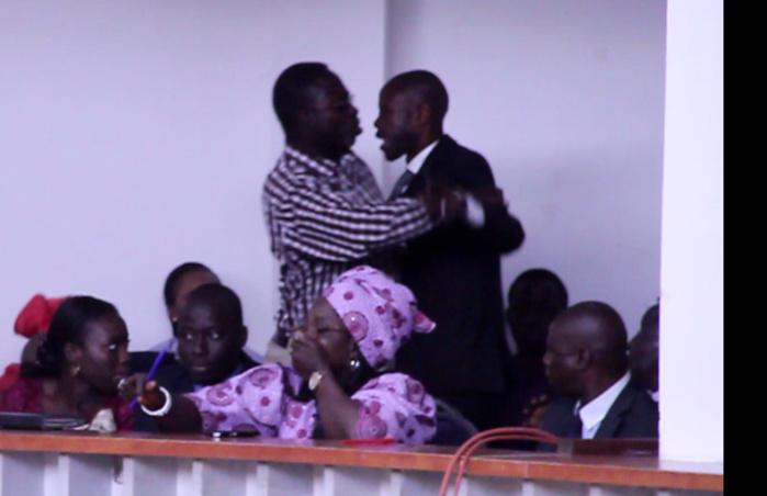 Assemblée Nationale : Ameth Suzanne Camara insulte Me El Hadj Diouf