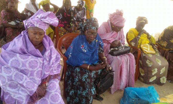 Incendie à Ndièyene Sirakh : Les femmes rewmistes de Thiés ont présenté leurs condoléances