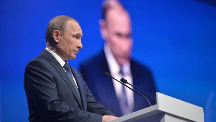 """Le Trésor américain affirme que Poutine est """"corrompu"""""""