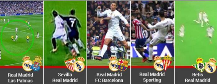 Cinq actions polémiques : Cristiano Ronaldo se croit-il tout permis?