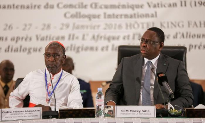 Colloque Vatican II au King Fahd Palace : Le discours du Président de la République Macky Sall
