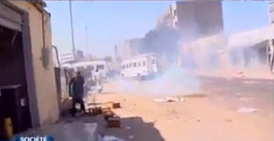 PETERSEN : Affrontement entre forces de l'ordre et marchands ambulants