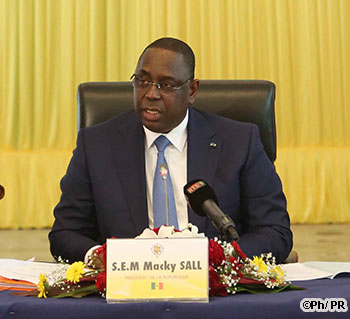 "ADDIS-ABEBA : Macky Sall participe à une réunion de haut niveau de ""SMART AFRICA ALLIANCE"""