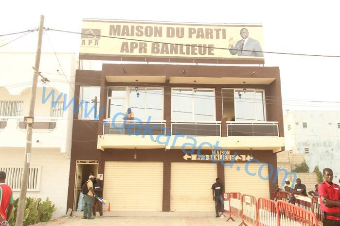 Les images de l'inauguration de la maison du parti APR en banlieue