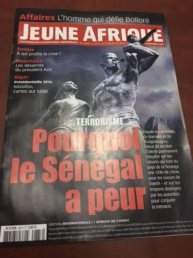JEUNE AFRIQUE DANS LES KIOSQUES AU SÉNÉGAL : Malgré le tintamarre né de la caricature de Serigne Touba