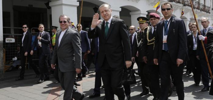 Les gardes du corps du président Erdogan provoquent un incident entre la Turquie et l'Equateur
