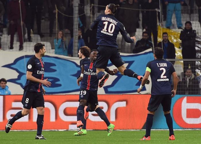 Le PSG s'impose à Marseille