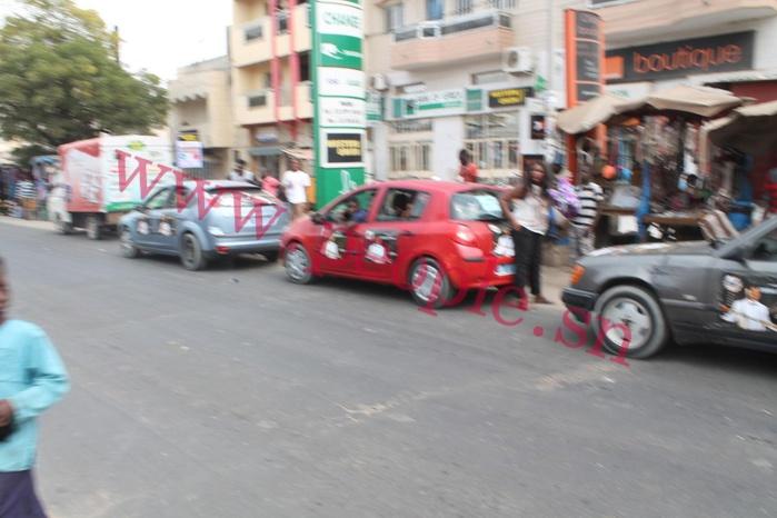 Les images de la caravane de Cheikh Diagne dans la banlieue
