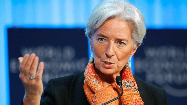 Christine Lagarde seule candidate à la tête du FMI (officiel)