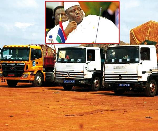 Forte hausse de la taxe sur les camions sénégalais : Jammeh terrorise les transporteurs - Le chargement fixé à 400 mille francs