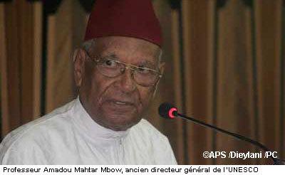 Nationalité Française de Mr et Mme Amadou Makhtar Mbow : L'ancien ministre de l'Education réfute