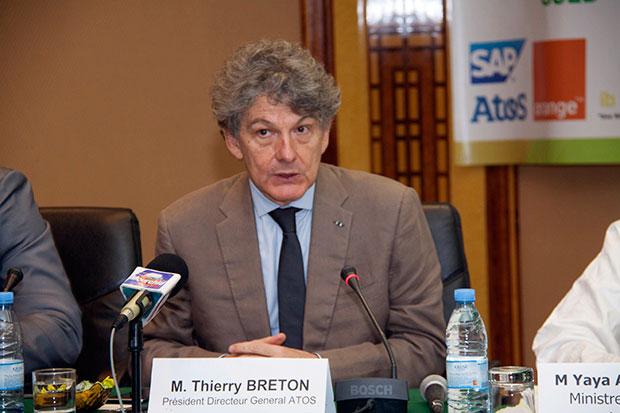 It Forum : « La cybercriminalité a coûté 15 milliards de francs CFA au Sénégal en 2013», Thierry Breton PDG Atos