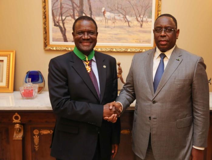 Le Sénégal distingue Kadré Désiré Ouédraogo, en fin de mandat à la CEDEAO