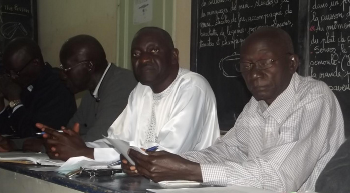 AG d'information de Benno Bokk Yakaar/Ngor sous la direction de Mr Antou Guèye Samba, DG de l'ASER (IMAGES)
