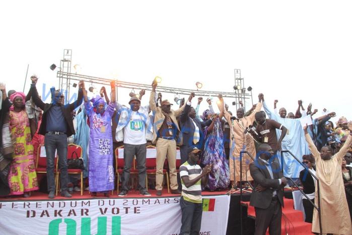 KHAR YALLA : Les images du meeting de l'APR/Dakar