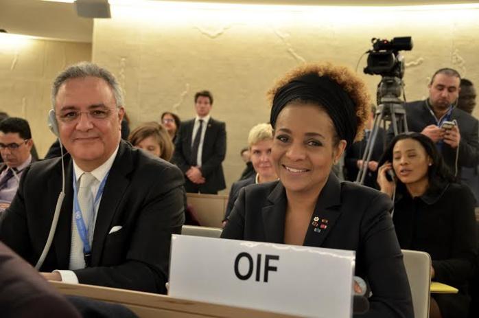 Segment de haut niveau du conseil des Droits de l'Homme : «  Ne répondons pas à la barbarie par la barbarie » a plaidé Michaelle Jean, Secrétaire générale de la Francophonie