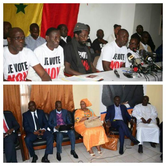 Forces du Non : La coalition emmenée par Decroix et celle de « Y en marre » s'unissent