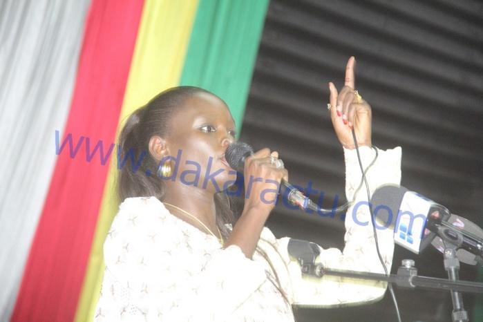 Acclamée par toute la salle, le discours engagé de la coordinatrice de la COJER Thérèse Faye Diouf