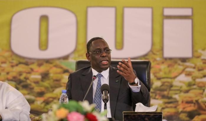 Référendum : Macky convoque le Conseil national de l'Apr et reçoit les élus de la mouvance