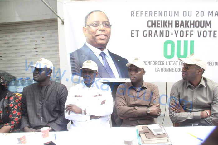 Les images de l'atelier sur le référendum à Grand-Yoff
