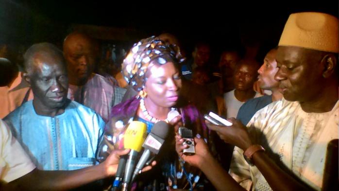 """MIMI TOURE : « Pour l'opposition, il est question de """"Poussal ma Tooq """" ...Je témoigne mon soutien à Tanor »"""