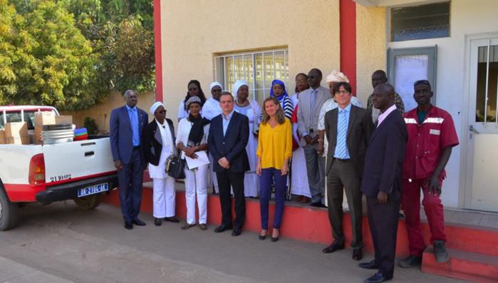 8 Mars : L'amicale des femmes de Bolloré distribue « du sourire » à la pédiatrie de Le Dantec et au centre « l'Abri »