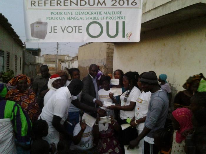 Fossar Banding Souané, Responsable APR et le mouvement «Sénégal And ak Macky» investissent la banlieue pour le «Oui»