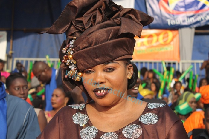 La vice-présidente de l'Assemblée nationale Awa Guèye à la maison d'arrêt et de correction de Kaolack