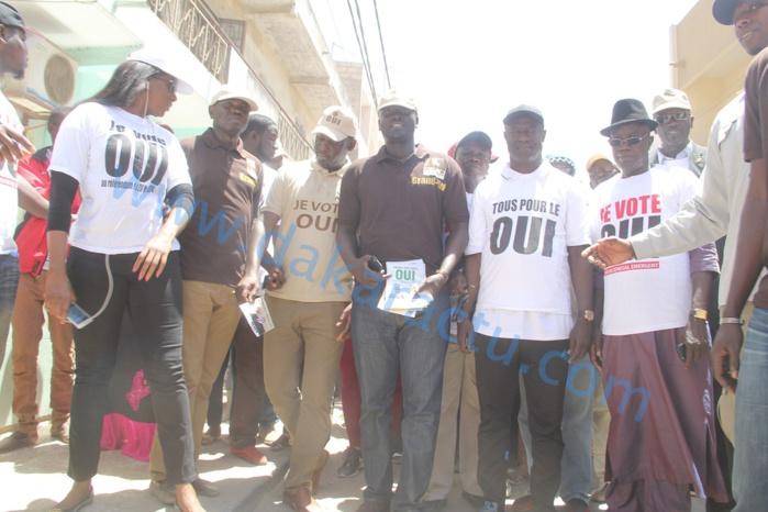 Référendum : Les images de la caravane du OUI à Grand-Yoff