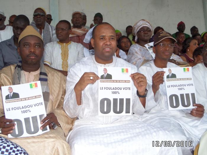 Référendum du 20 Mars 2016 : Kolda dit OUI au OUI