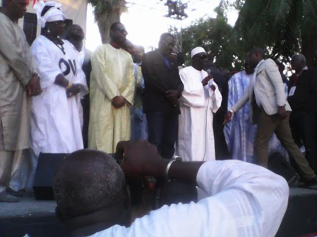 Meeting de Pape Abdoulaye Seck pour le Oui : La Medina valide