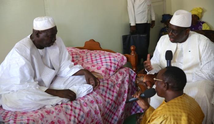 Visite du Président Macky Sall à Darou Marnane et Darou Mousty (Photos)