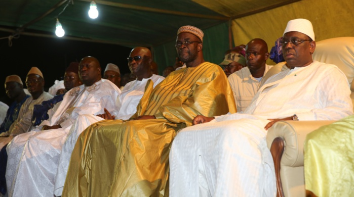 Les images du meeting de Macky Sall à M'backé