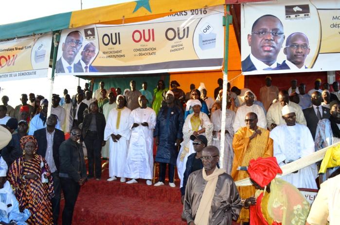 Démonstration de forced'Aboulaye Diouf Sarr : Yoff promet une victoire massive du Oui au référendum