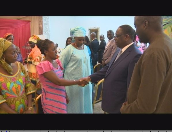 Audience de l'Association Nationale des Elus Départementaux (ANED) avec le Président Macky Sall