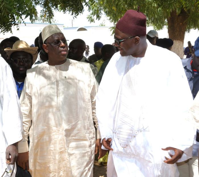 Visite de Macky Sall à Touba et Mbacké chez Serigne Cheikh Ahmadou Saï Mbacké et Serigne Abdoulaye Mbacké « Yallay bour »
